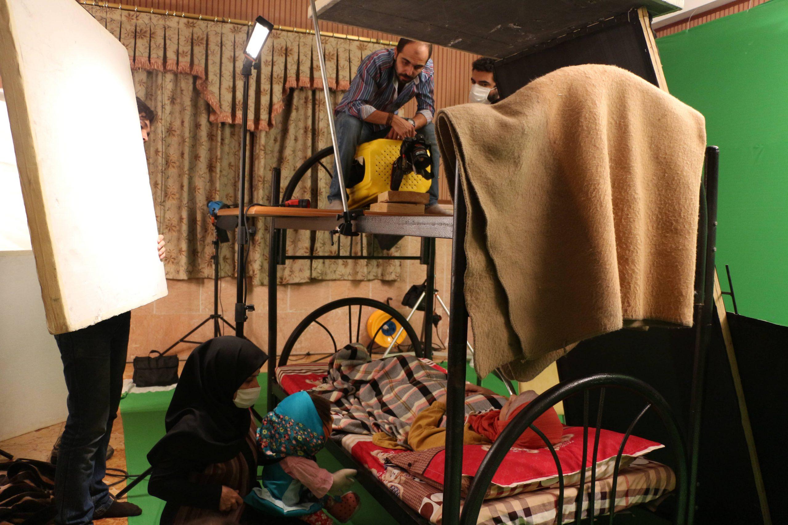 """Behind the scenes """"Tele Pele"""" Teddy TV series"""